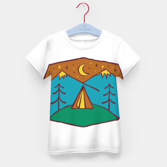 Thumbnail image of Camp Night Kid's t-shirt, Live Heroes