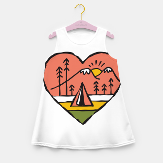Thumbnail image of Camping in Love Girl's summer dress, Live Heroes