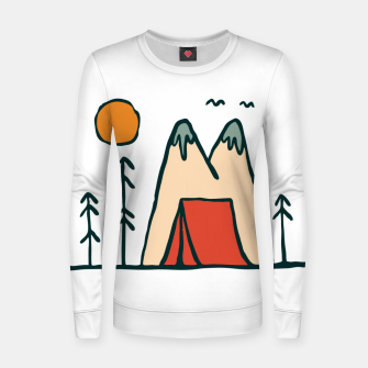 Thumbnail image of Nature Lover Women sweater, Live Heroes