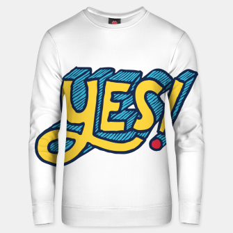 Thumbnail image of Yes Unisex sweater, Live Heroes