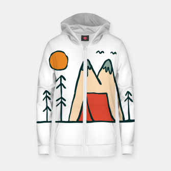 Thumbnail image of Nature Lover Zip up hoodie, Live Heroes