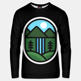 Thumbnail image of Waterfall Unisex sweater, Live Heroes