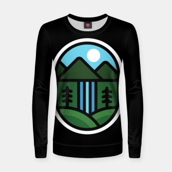 Thumbnail image of Waterfall Women sweater, Live Heroes
