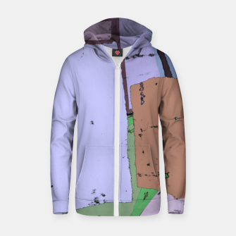 Thumbnail image of Urban Zip up hoodie, Live Heroes