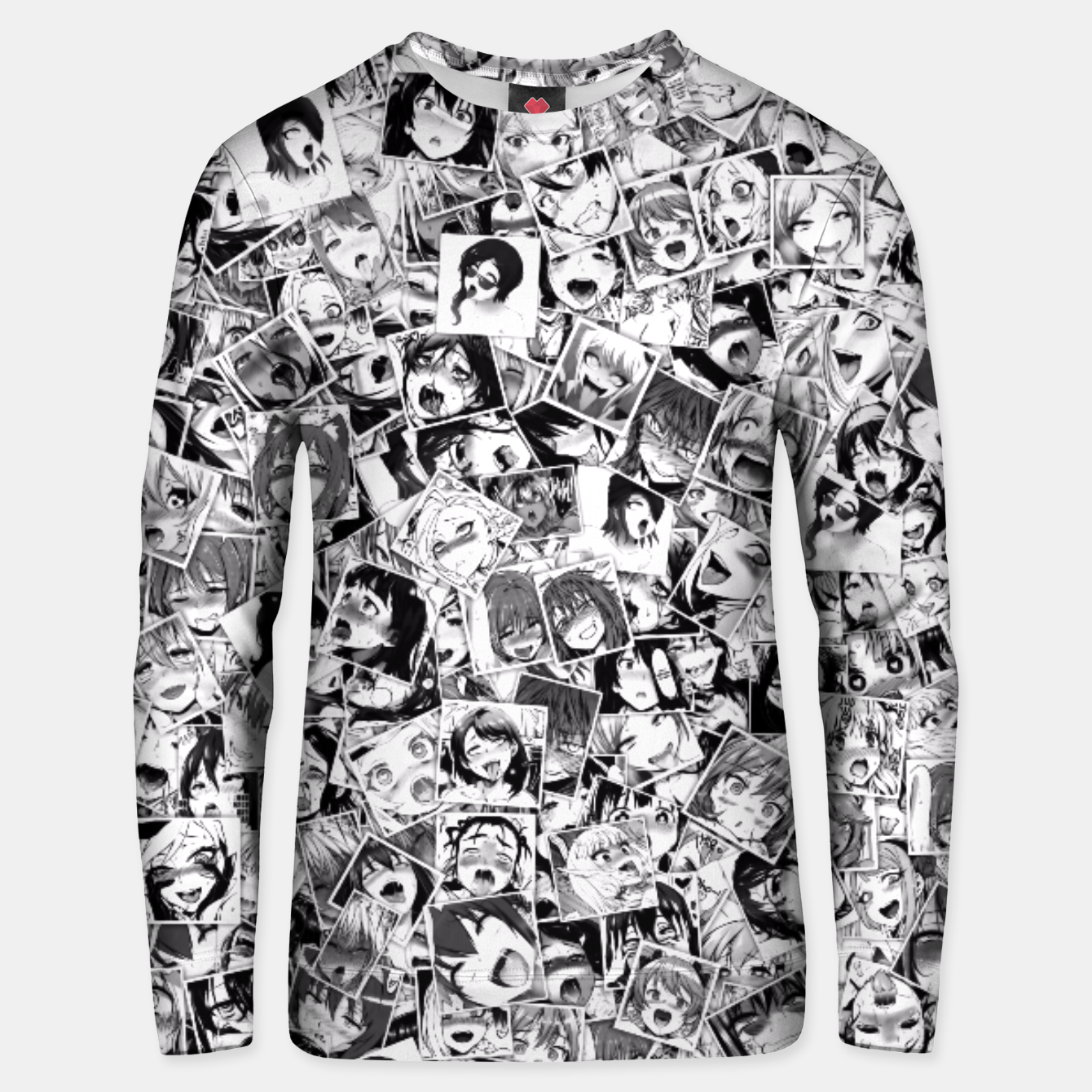 Image of Ahegao pictures  Unisex sweater - Live Heroes