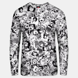 Thumbnail image of Ahegao pictures  Unisex sweater, Live Heroes
