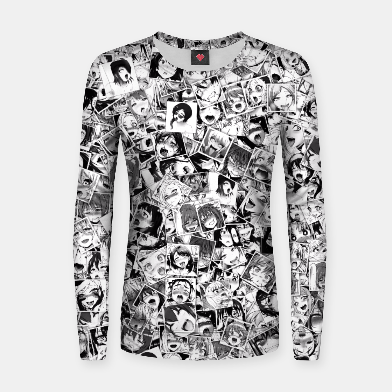 Image of Ahegao pictures  Women sweater - Live Heroes