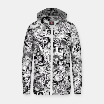 Thumbnail image of Ahegao pictures  Zip up hoodie, Live Heroes