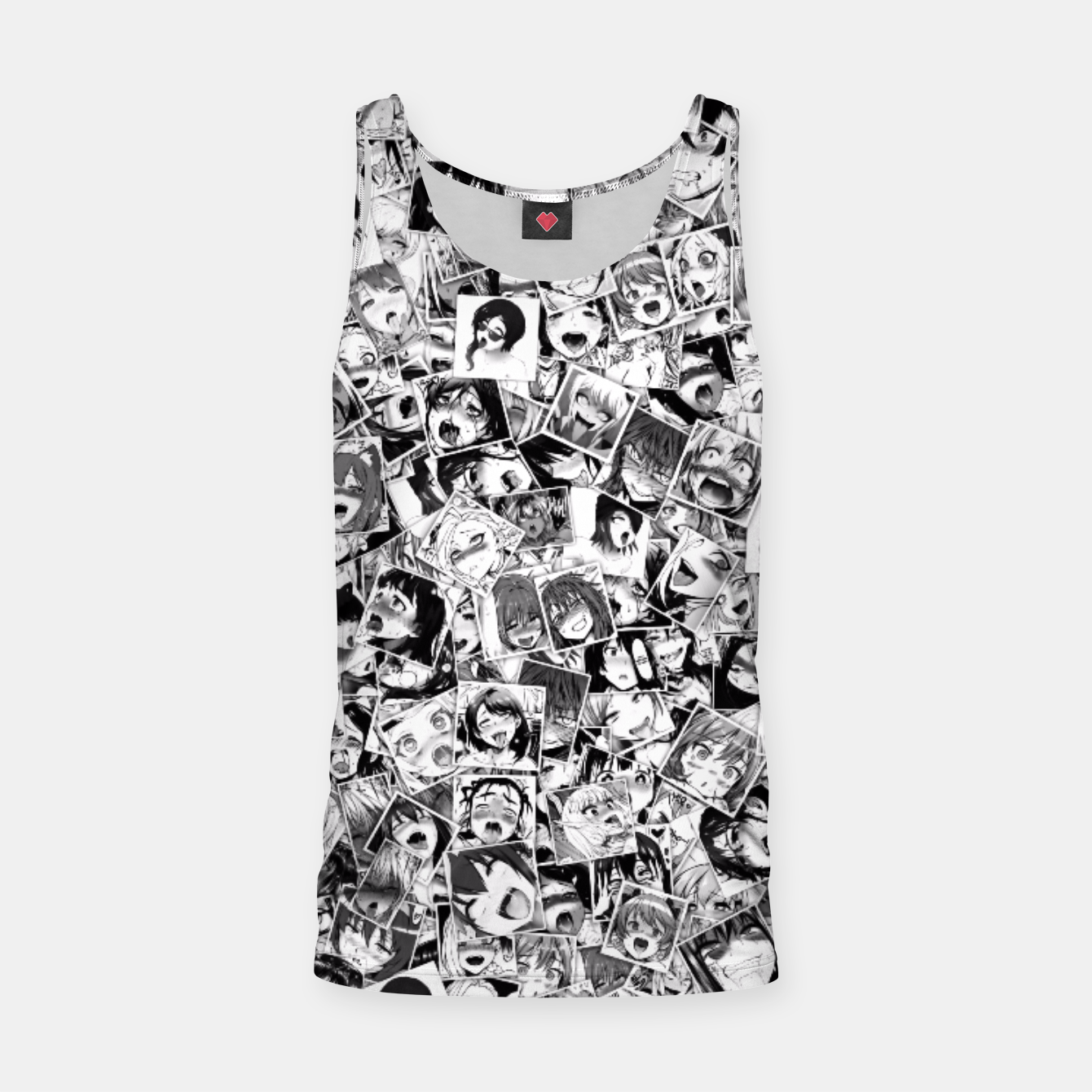 Image of Ahegao pictures  Tank Top - Live Heroes