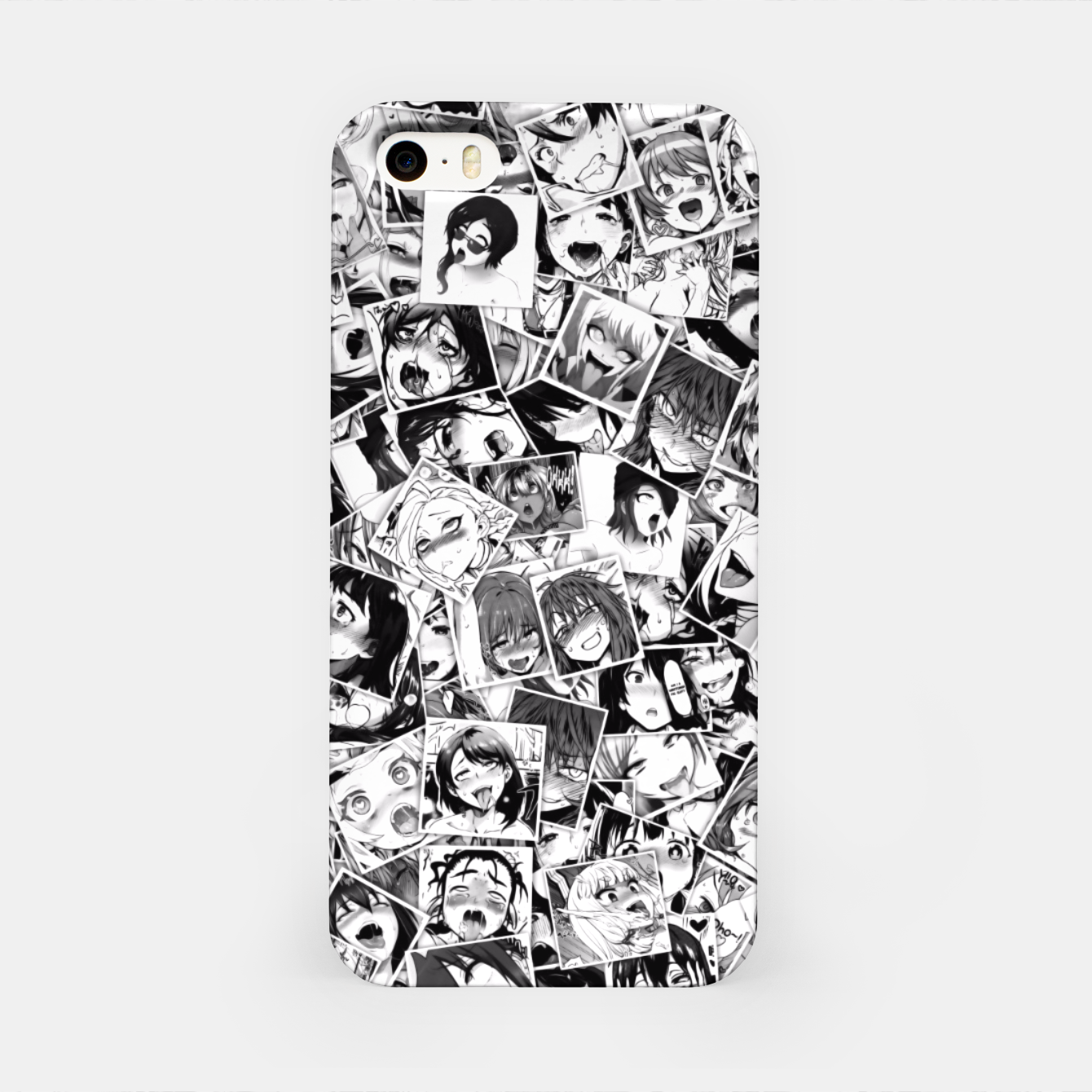 Image of Ahegao pictures  iPhone Case - Live Heroes