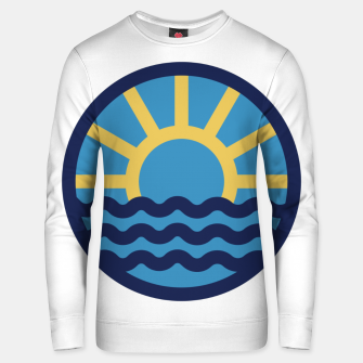 Thumbnail image of Sun Beach Unisex sweater, Live Heroes