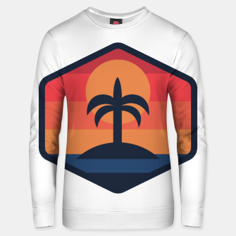 Thumbnail image of Sunset Beach Island Unisex sweater, Live Heroes