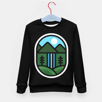Thumbnail image of Waterfall Kid's sweater, Live Heroes