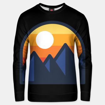 Thumbnail image of Beauty Sunset  Mountain Unisex sweater, Live Heroes