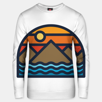 Thumbnail image of Mountain and Sea Unisex sweater, Live Heroes