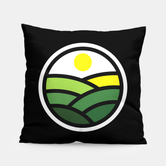 Thumbnail image of Nature Line Pillow, Live Heroes
