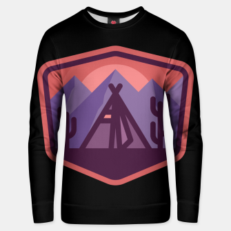 Thumbnail image of Camp & Cactus Unisex sweater, Live Heroes