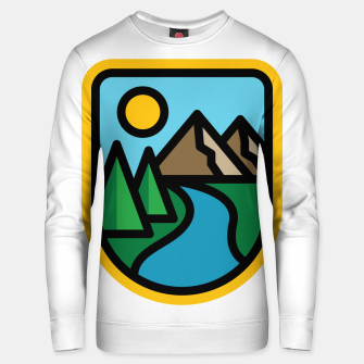 Thumbnail image of River Line Unisex sweater, Live Heroes