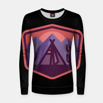 Thumbnail image of Camp & Cactus Women sweater, Live Heroes