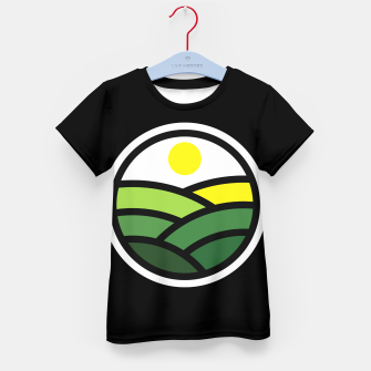 Thumbnail image of Nature Line Kid's t-shirt, Live Heroes