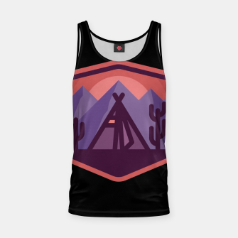 Thumbnail image of Camp & Cactus Tank Top, Live Heroes