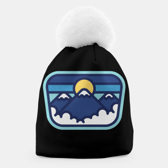 Thumbnail image of Mountain Line Beanie, Live Heroes