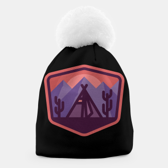 Thumbnail image of Camp & Cactus Beanie, Live Heroes
