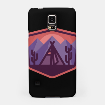 Thumbnail image of Camp & Cactus Samsung Case, Live Heroes