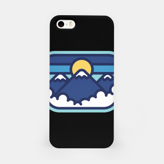 Thumbnail image of Mountain Line iPhone Case, Live Heroes