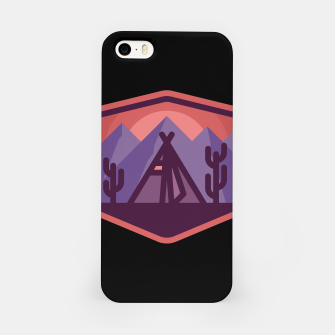 Thumbnail image of Camp & Cactus iPhone Case, Live Heroes