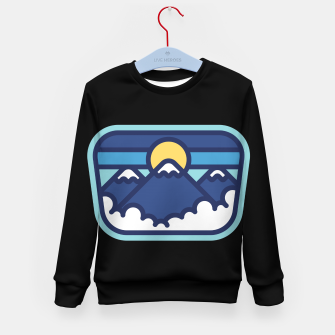 Thumbnail image of Mountain Line Kid's sweater, Live Heroes