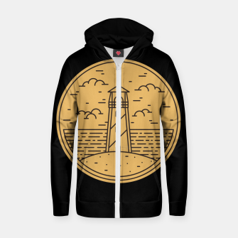 Lighthouse Zip up hoodie Bild der Miniatur