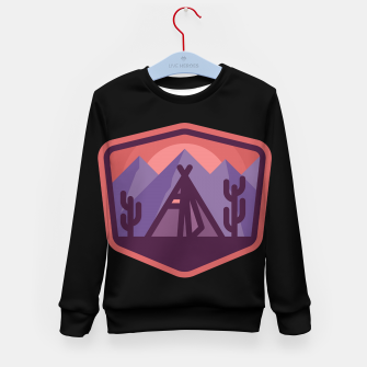 Thumbnail image of Camp & Cactus Kid's sweater, Live Heroes