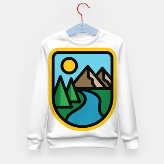 Thumbnail image of River Line Kid's sweater, Live Heroes