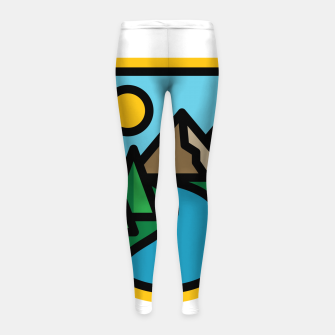 Thumbnail image of River Line Girl's leggings, Live Heroes