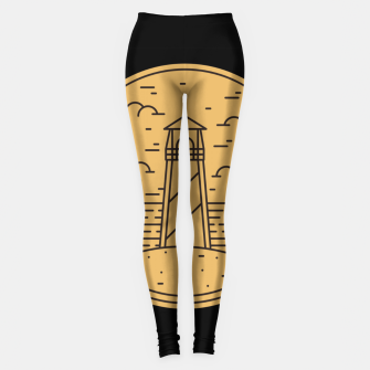 Lighthouse Leggings Bild der Miniatur