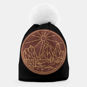 Thumbnail image of Beauty Desert Beanie, Live Heroes