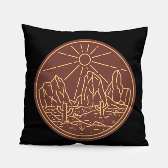 Beauty Desert Pillow Bild der Miniatur