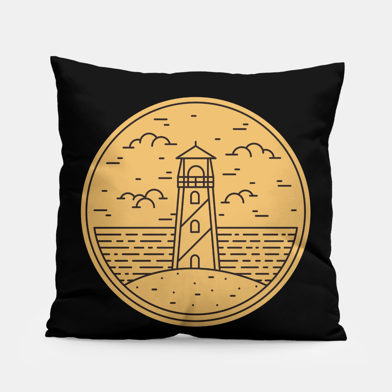 Foto Lighthouse Pillow - Live Heroes