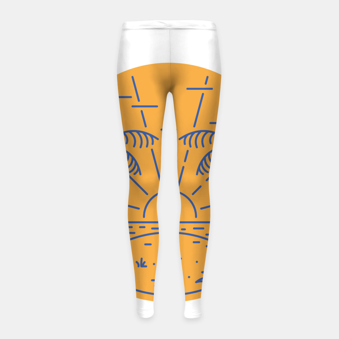 Foto Beach Girl's leggings - Live Heroes