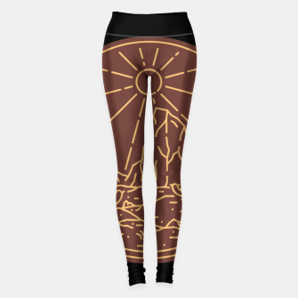Beauty Desert Leggings Bild der Miniatur