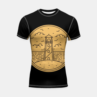 Lighthouse Shortsleeve rashguard Bild der Miniatur
