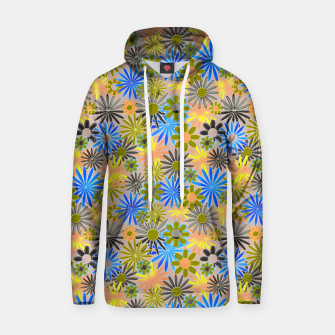Miniaturka Yellow and Blue Daisies Hoodie, Live Heroes