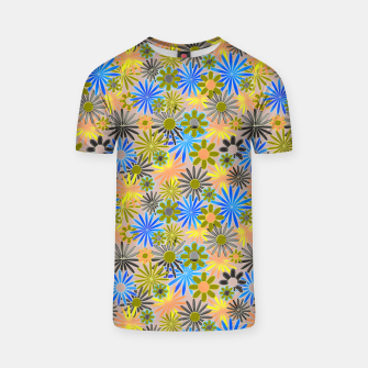 Miniaturka Yellow and Blue Daisies T-shirt, Live Heroes