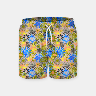 Miniaturka Yellow and Blue Daisies Swim Shorts, Live Heroes