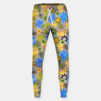 Miniaturka Yellow and Blue Daisies Sweatpants, Live Heroes