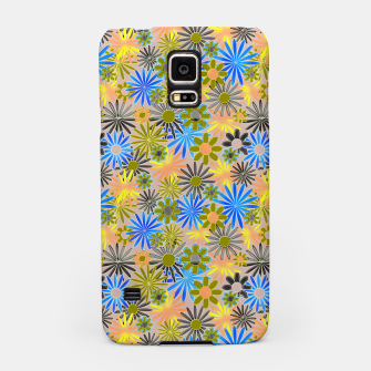 Miniaturka Yellow and Blue Daisies Samsung Case, Live Heroes