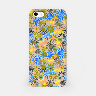 Miniaturka Yellow and Blue Daisies iPhone Case, Live Heroes