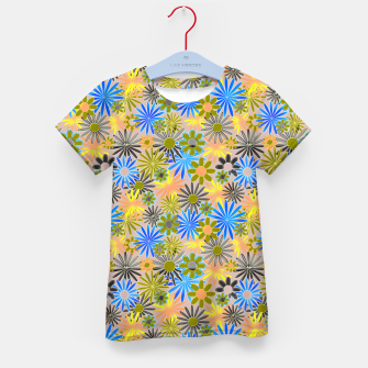 Miniaturka Yellow and Blue Daisies Kid's t-shirt, Live Heroes