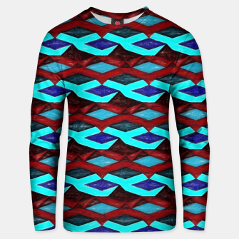 Thumbnail image of Blue Red Ribbons Unisex sweater, Live Heroes
